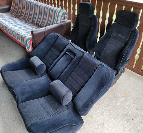 Fotele kanapa zagłówki komplet Alfa Romeo 156 sedan 1998 welur