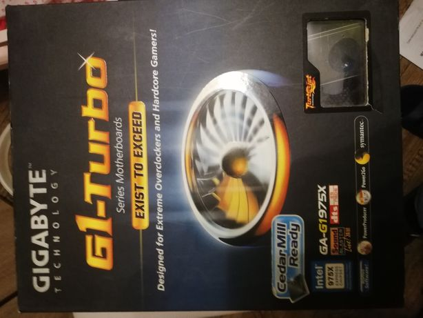 Płyta główna GIGABYTE GA-G1975X Pentium 4 Pentium D LGA 775