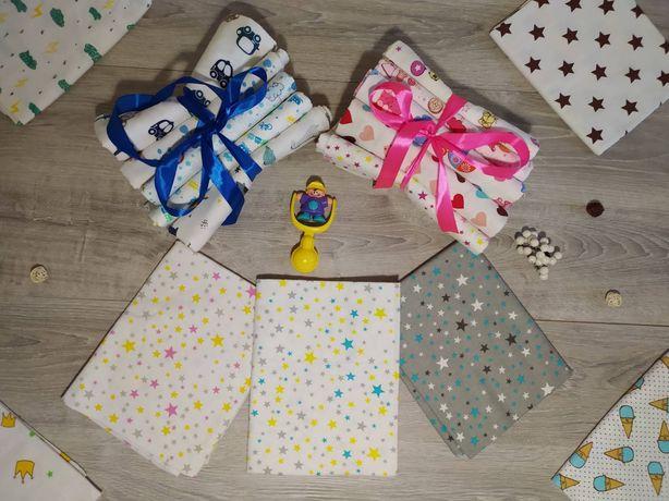Пеленки для новорождённых в ассортименте