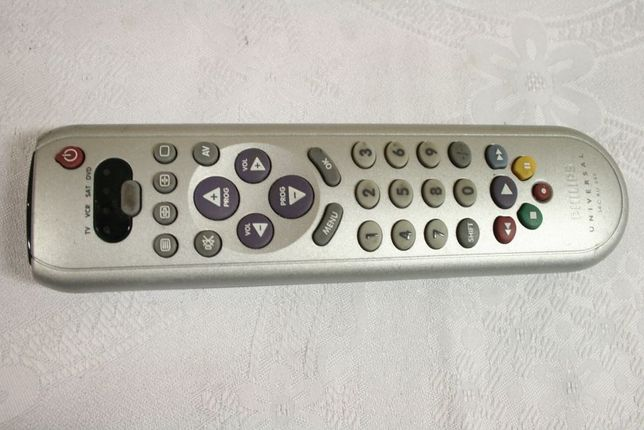 Pilot Uniwersalny PHILIPS SBC RU 545 - TV VCR SAT DVD + kody/Wysyłam