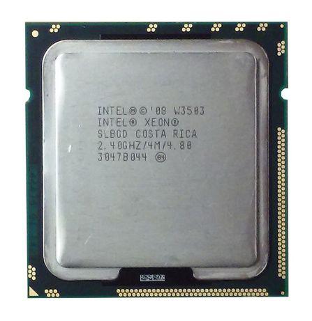 Intel® Xeon® W3503 4 МБ кэш-памяти, 2,40 ГГц, 4,80 ГТ/с LGA1366