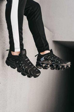 Кроссовки Nike VaporMax Black вапормакс оригинальные Air Jordan скидка