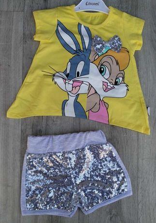 Детский костюм для девочки на возраст 2-3-4-5 лет