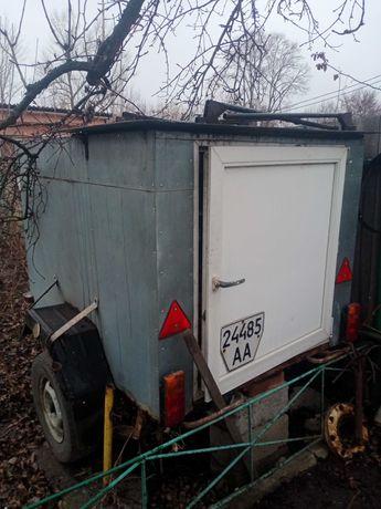 легковой прицеп-холодильник