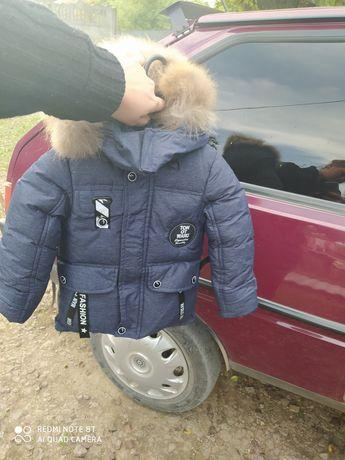 Продам курточку на мальчика 98 размер