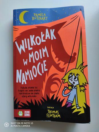 Wilkołak w moim namiocie - książka dla dzieci