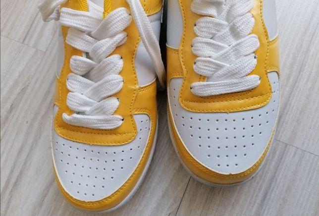 Adidasy żółte nowe damskie