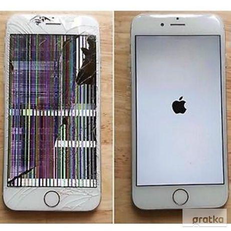 Wymiana wyświetlacza iPhone 11 11pro X XS XR XSMAX 8 7 7+ 6S 6 6S+ 6+