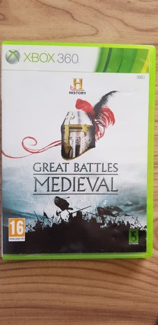 Xbox 360 Great Battles medieval