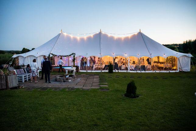 Namiot na wesele. Wynajem namiotów imprezowych. Namioty bankietowe.