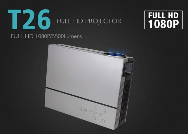 Projektor Touyinger T26 LED 5500lm FullHD WIFI ANDROID 9.0 3D 4K