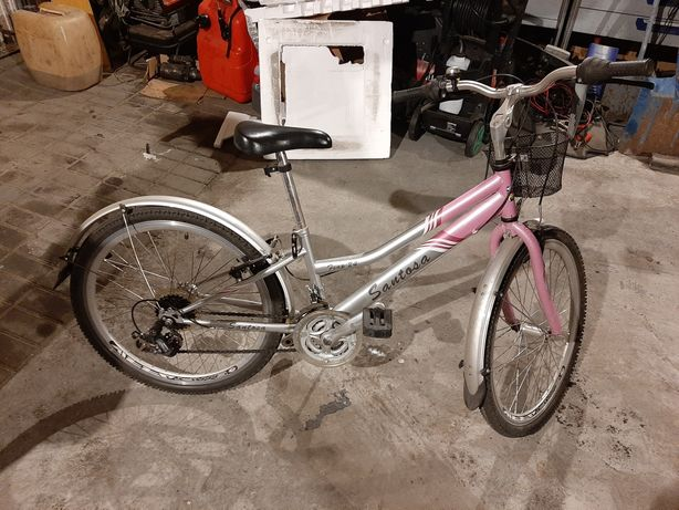 Rower dla dziewczynki 24cale