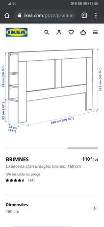 Cabeceira Brimnes IKEA