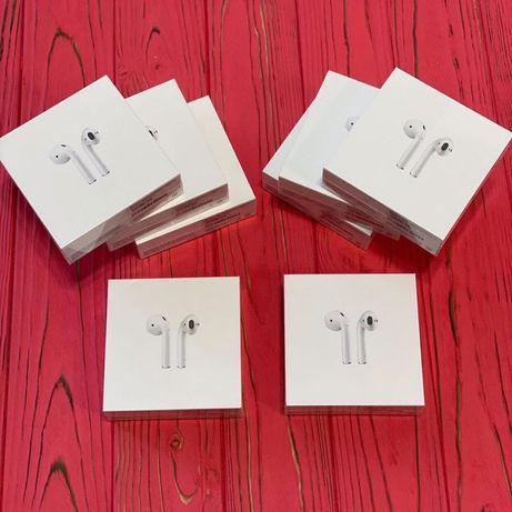 ЦІНА Оригинальные наушники AirPods 2 WCC для iPhone SE 5 6 7 8 X 11 12