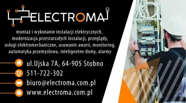Elektryk - instalacje elektryczne, Inteligentny dom, Fotowoltaika.