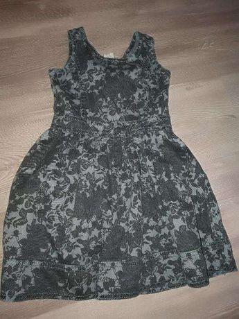 Szara sukienka dziewczęca 3-4latka!!!