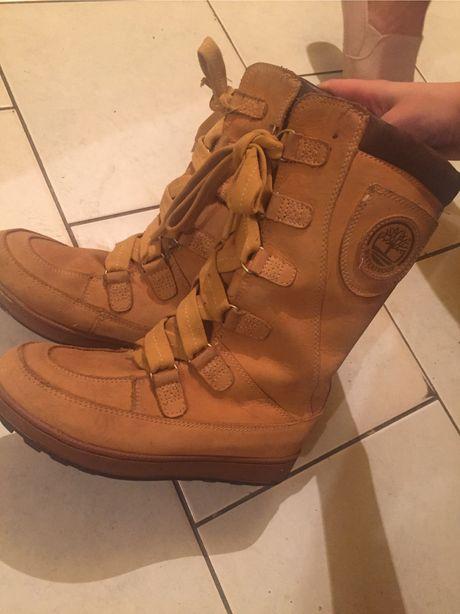 nieprzemakalne zimowe buty timberland rozmiar 35