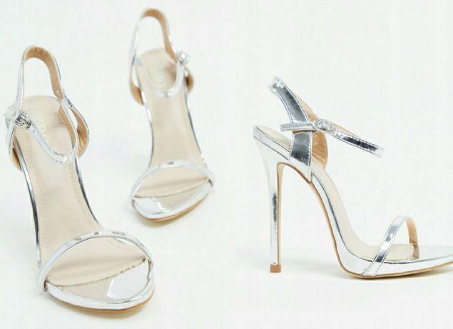 Sandały szpilka obcas
