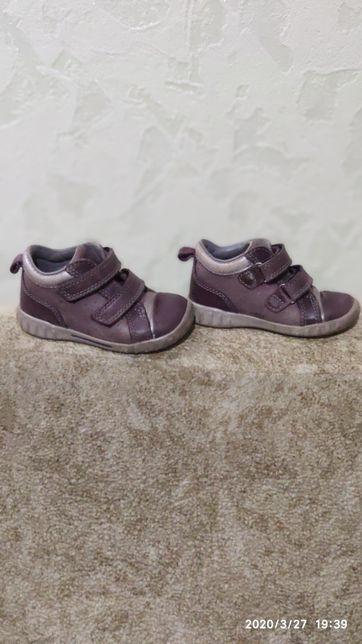 Ботинки, туфли, кроссовки Ecco 14 см. 22 р