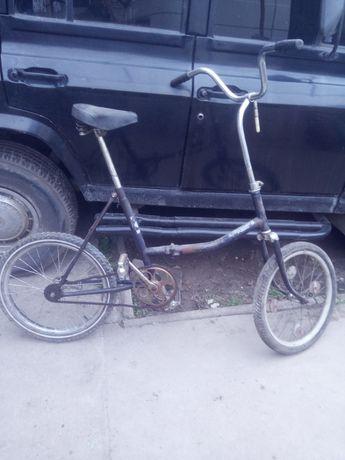 Велосипед взрослый раскладкой Десна  складной компактный велик   б у