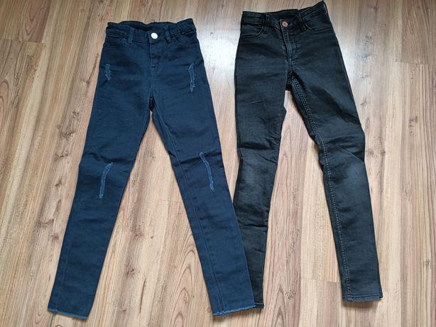 Spodnie na szczupłą dziewczynkę 134