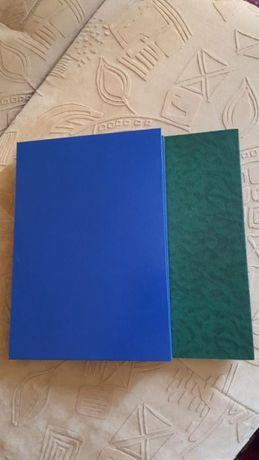 Книга канцелярская А4, линия, 100 и 150 листов твердая обложка