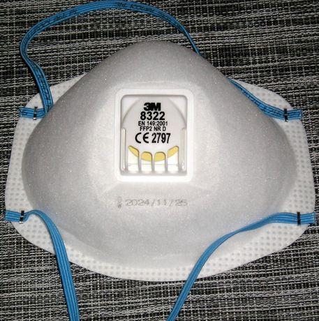 maska ochronna z zaworem 3M FLOWTM FFP2 P2 8322
