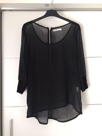 Czarna bluzka orsay M z rękawami