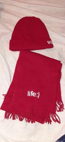 Шапка и шарф Life