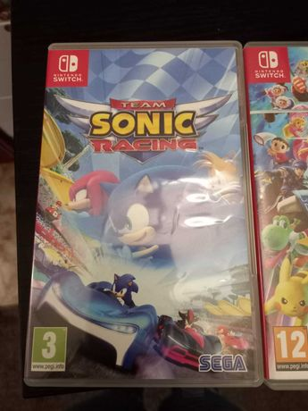 "Jogo Nintendo Switch  ""Team Sonic Racing"""
