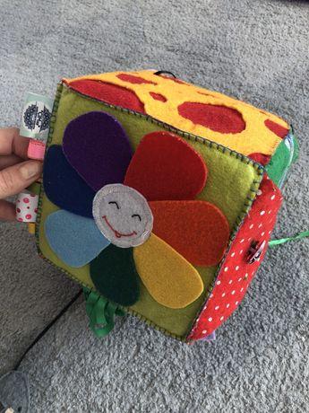Бізі куб розвиваючий фетра busy cube 12+ 6м +