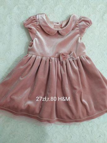 Sukienka r.80 H&M