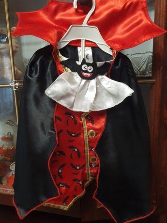 Маскарадный костюм Дракулы, можно и мальчику и девочке.
