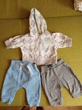 Кофточка и 2 пары штанов для новорожденного мальчика в идеале