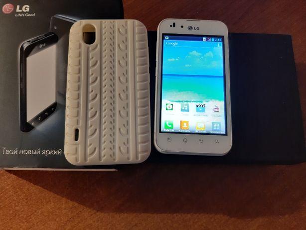 Мобильный телефон, смартфон LG P970 Optimus White