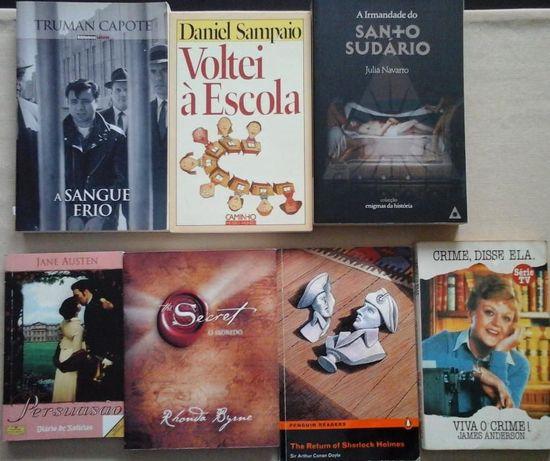 Livros vários a 6Euros - VENDIDOS EM SEPARADO - Entrega IMEDIATA