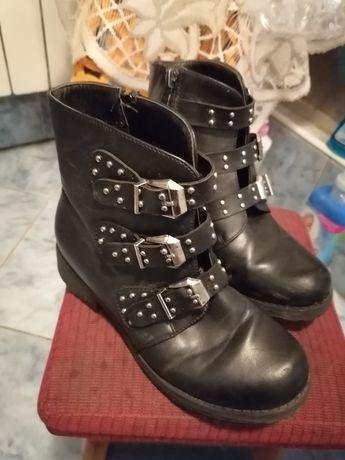 Buty zimowe na dziewczynkę