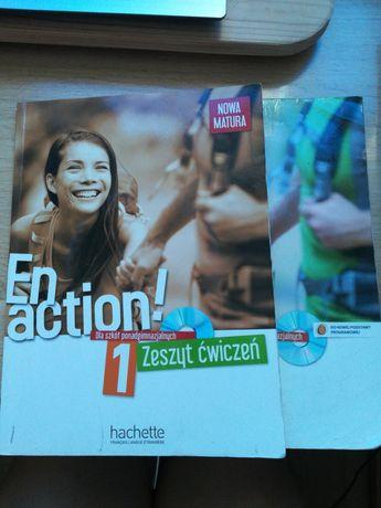 en action 1 podręcznik + ćwiczenia