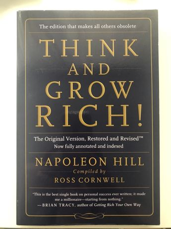 Ksiazka po angielsku Napoleon Hill Think and Grow Rich