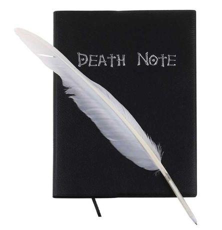 Тетрадь смерти Death Note + ручка-перо в ПОДАРОК!