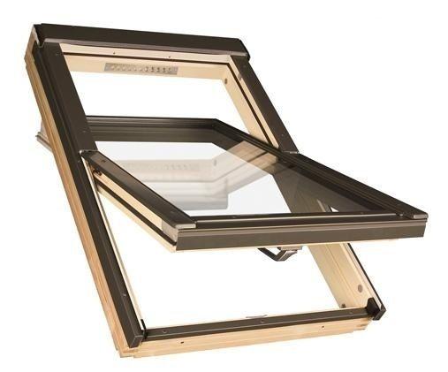 Trzy szybowe POLSKIE okno dachowe FAKRO FTP-V U4 78x118 Dostawa całaPL
