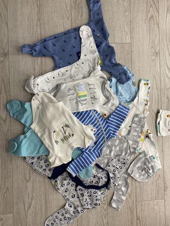 Одежда для новорожденого мальчика 56 размера