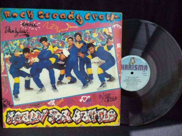 The Rock Steady Crew- Ready For Battle //Up Rock//b-boys B-Girls -LP