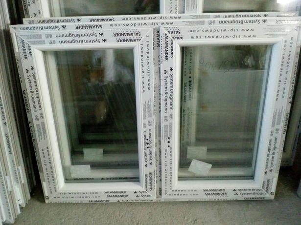 Sprzedam okno nowe wys90 szer 120 dwuskrzydłowe . BARDZO TANIO .