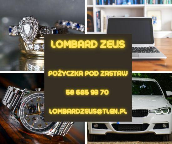 Skup złota pożyczka pod zastaw skup zegarków Lombard Zeus