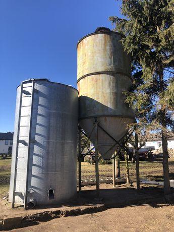 Biny zbożowe silosy zbiorniki 10 / 12 tonowe