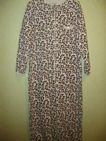 Флисовый слип, пижама, домашний костюм, Love to lounge, размер xs, бол