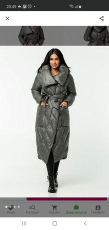 Пальто куртка женская теплая зимние сапоги в подарок !