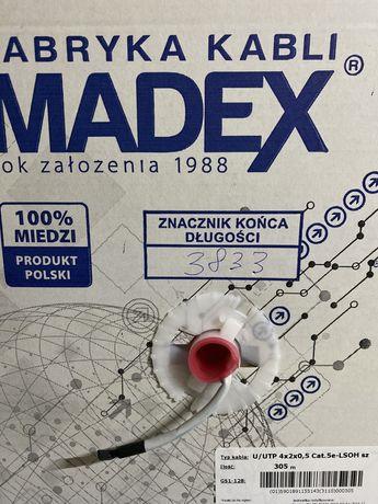 Skrętka przewód madex cat.5 UTP 305m