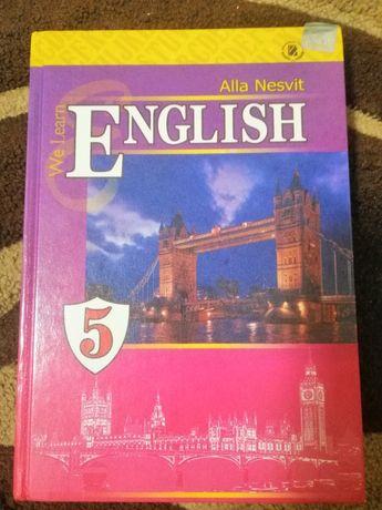 Підручник Англійська 5 клас